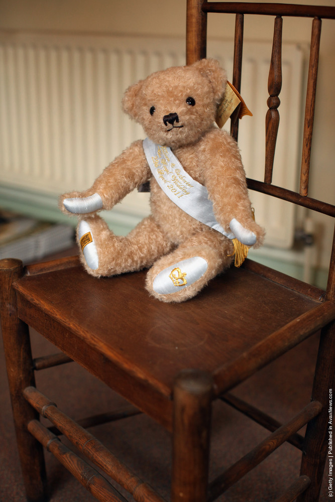 Merrythought Staff Make Commemorative Teddy Bears Ahead Of The Royal Wedding And Olympics