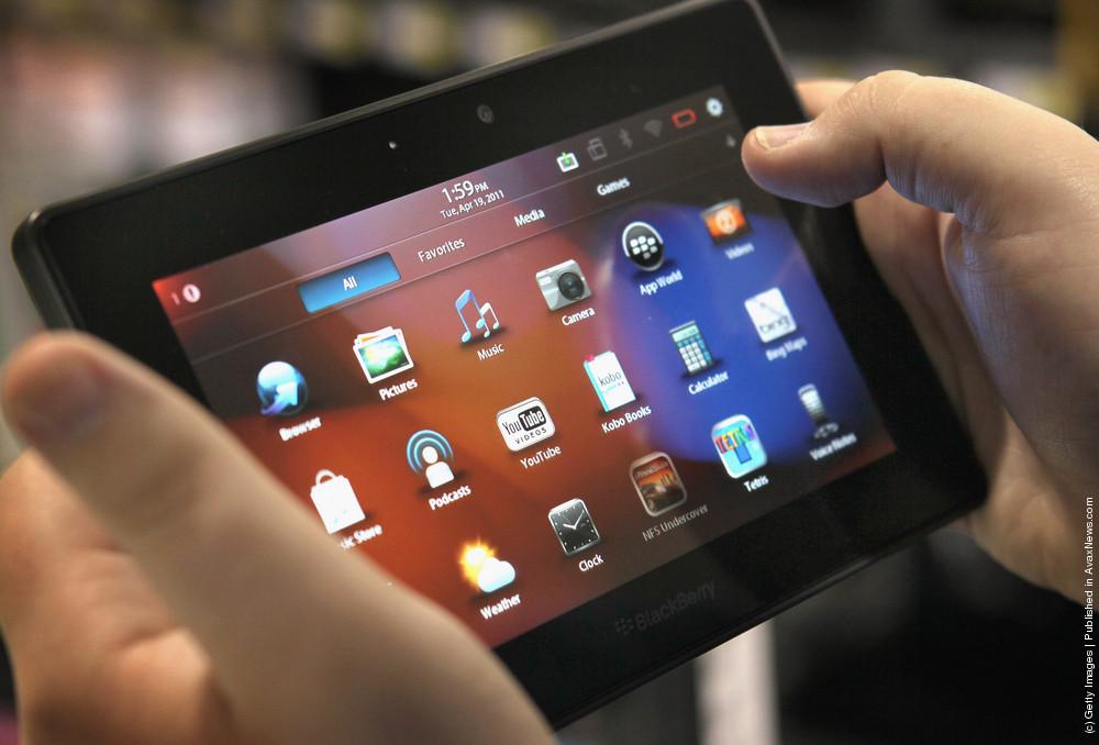 Blackberry's Playbook Tablet Goes On Sale