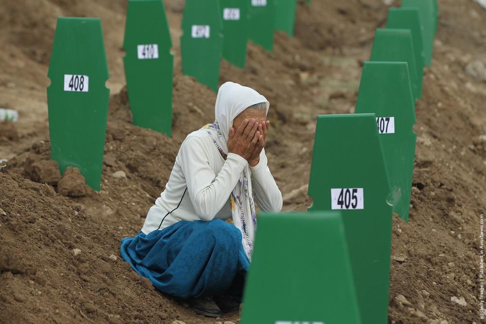 Mass Burial Of More Srebrenica Massacre Victims