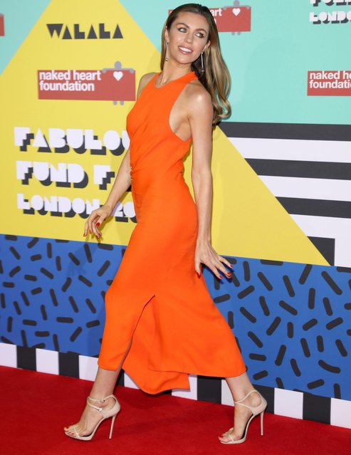 Abigail Clancy attends The Naked Heart Foundation Fabulous Fund Fair on February 21, 2017 in Roundhouse, London, UK. (Photo by Tim p. Whitby/Getty Images)