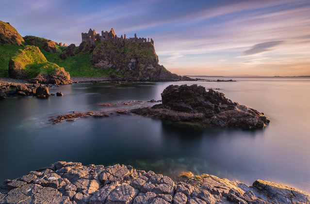 Dunluce Castle in Northern Ireland showcasing some of the most stunning locations on the Emerald Isle. (Photo by Alessio Putzu/Caters News Agency)