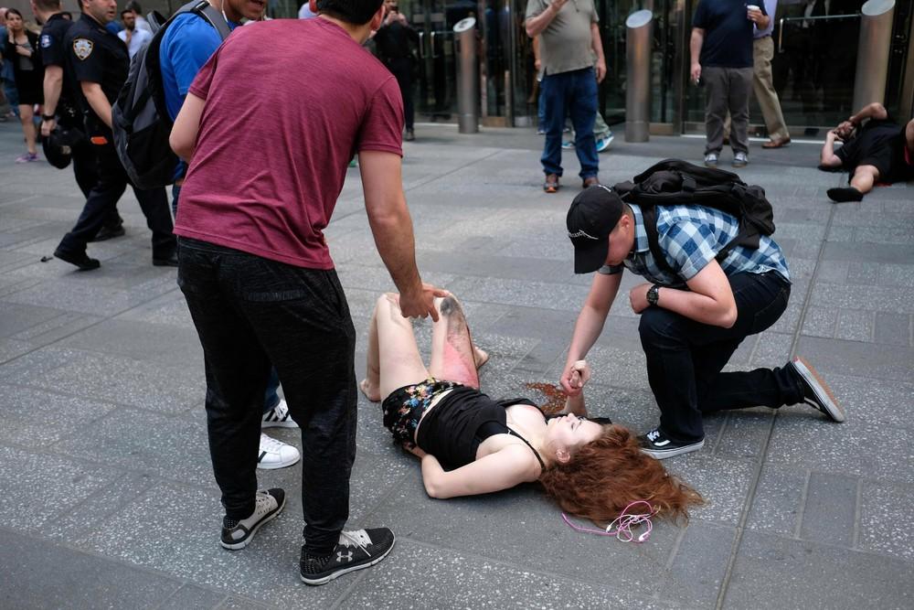 Times Square Rampage