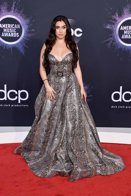 Lauren Jauregui attends the 2019 American Music Awards at Microsoft Theater on November 24, 2019 in Los Angeles, California. (Photo by John Shearer/Getty Images for dcp)