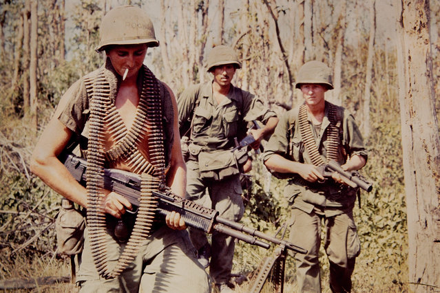 A photo taken from the collection of D.Thornton, who served in the First Air Cavalry division of the United States Army. (Photo by D.Thornton/The Vietnam Slide Project)