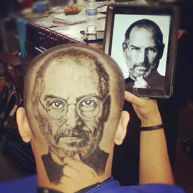 Steve Jobs. (Photo by Caters News)