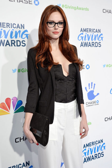 Miss USA Alyssa Campanella arrives at the 2nd Annual American Giving Awards at the Pasadena Civic Auditorium on December 7, 2012 in Pasadena, California. (Photo by Gregg DeGuire/WireImage)