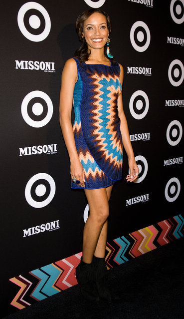 Selita Ebanks attends the Missoni for Target Collection launch at the Missoni for Target Pop-Up Store on September 7, 2011 in New York City.  (Photo by Gilbert Carrasquillo)