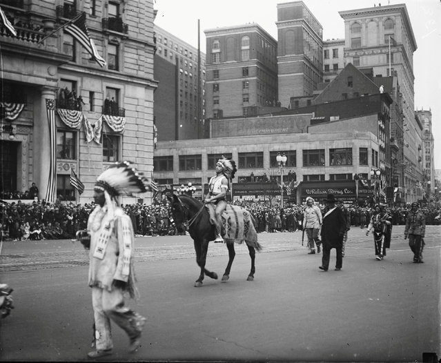 The inaugural parade for Franklin Roosevelt in Washington, D.C., U.S. in March 1933. Roosevelt's first term was the last to commence on March 4th. The 20th amendment, ratified in January 1933, moved Inauguration Day to January 20th. (Photo by Reuters/Library of Congress)