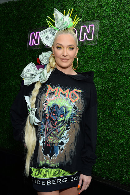 Erika Jayne attends NYLON's Midnight Garden Party 2019 on April 13, 2019 in Bermuda Dunes, California. (Photo by ENT/Splash News and Pictures)