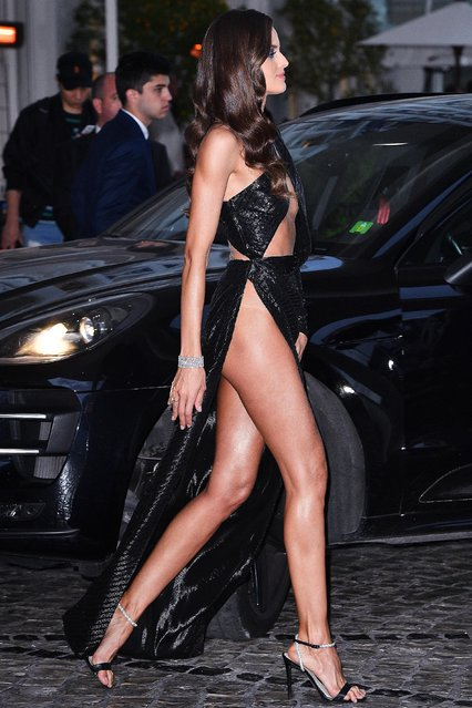 Ex Victoria's Secret angel model Izabel Goulart attends the Chopard Party during the 72nd annual Cannes Film Festival on May 17, 2019 in Cannes, France. (Photo by Splash News and Pictures)