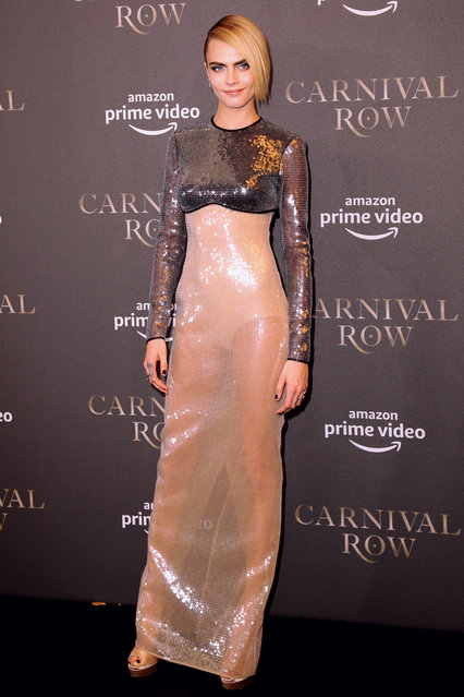 """Cara Delevingne attends the """"Carnival Row"""" Special Screening at Astor Film Lounge on August 26, 2019 in Berlin, Germany. (Photo by Christian Marquardt/WireImage)"""