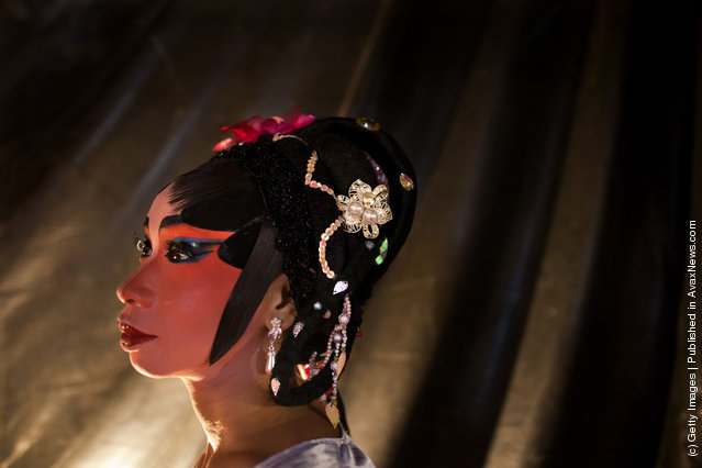 Behind The Scenes At The Chinese Opera In Thailand