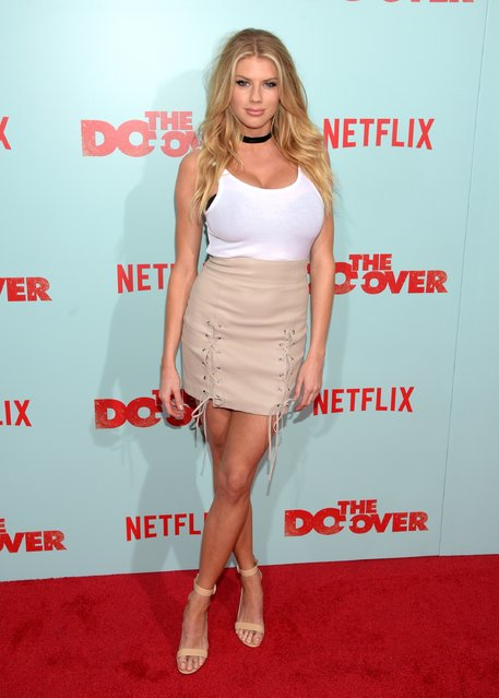 "Model Charlotte McKinney attends the premiere of Netflix's ""The Do Over"" at Regal LA Live Stadium 14 on May 16, 2016 in Los Angeles, California. (Photo by Jason Kempin/Getty Images)"
