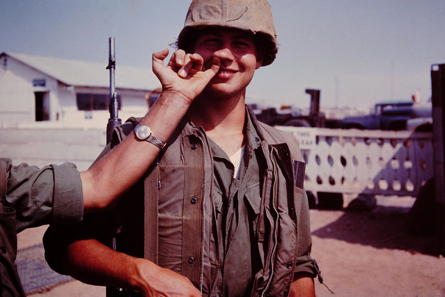 A photo from the collection of Sgt. C.R. Foster, 1968. (Photo by C.R. Foster/The Vietnam/Slide Project)
