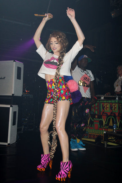 Nicola Roberts performs at G-A-Y to promote her new album Cinderellas Eyes, to be released on the 26th of September, on September 24, 2011 in London, United Kingdom.  (Photo by Dave J Hogan)
