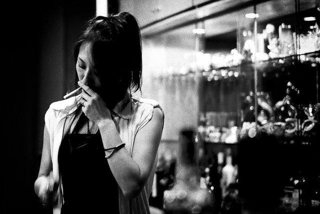 """""""A nocturnal Tokyo, Shinagawa"""". (Satoshi Ohki)"""