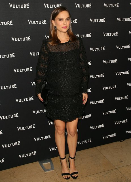 Natalie Portman attends the Vulture Awards Season Party on December 08, 2016 in West Hollywood, California.  (Photo by J.B. Lacroix/WireImage)