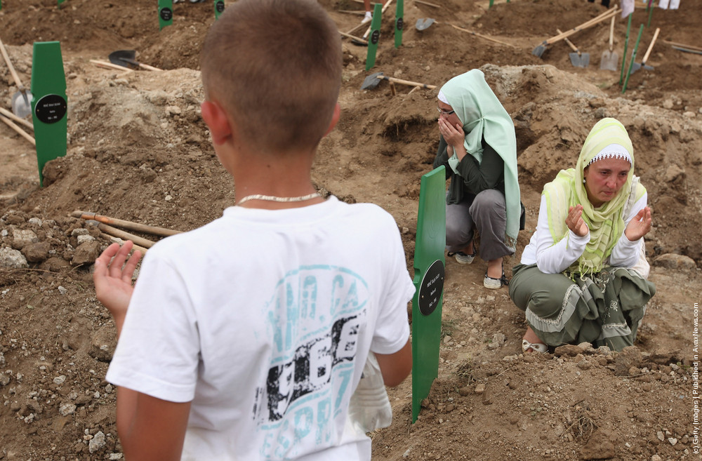 Mass Burial Of More Srebrenica Massacre Victims