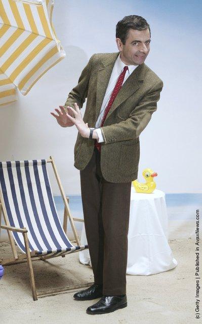 Rowan Atkinson in character as Mr Bean