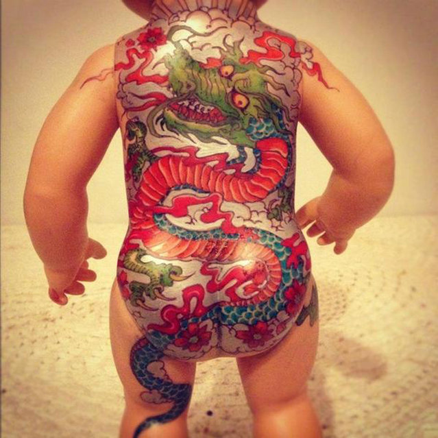 Vintage Tattooed Dolls By Kartess