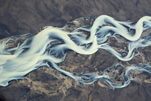 Breathtaking Images of Icelandic Volcano Rivers. (Photo by Andrey Ermolaev/Barcroft Media)