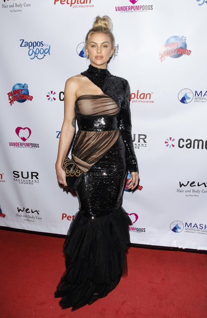 Lala Kent attends the 4th annual Vanderpump Dog Foundation Gala at Taglyan Cultural Complex on November 21, 2019 in Hollywood, California. (Photo by Tibrina Hobson/Getty Images)