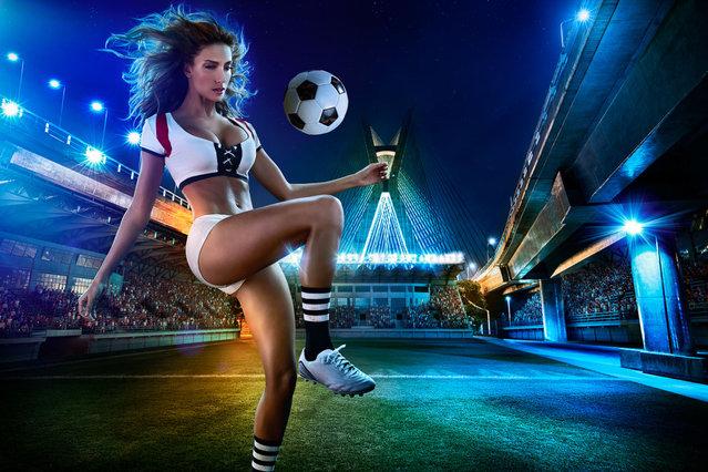 Brazil Soccer Calendar By Tim Tadder