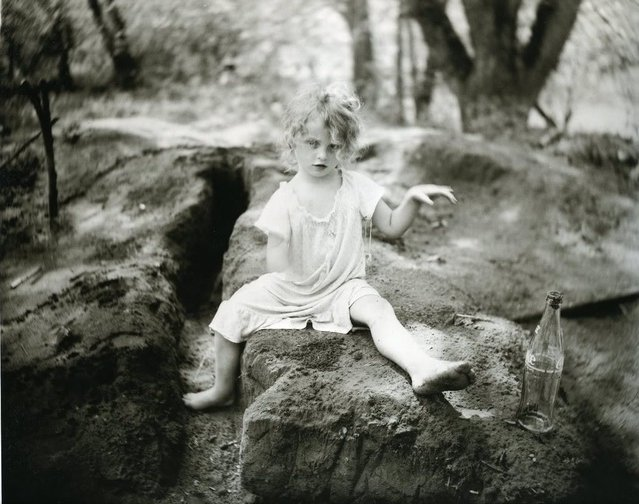 Coke in the Dirt, 1989. (Photo by Sally Mann)