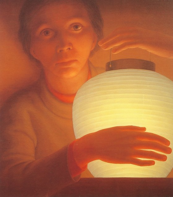 Lantern. Artwork by George Tooker