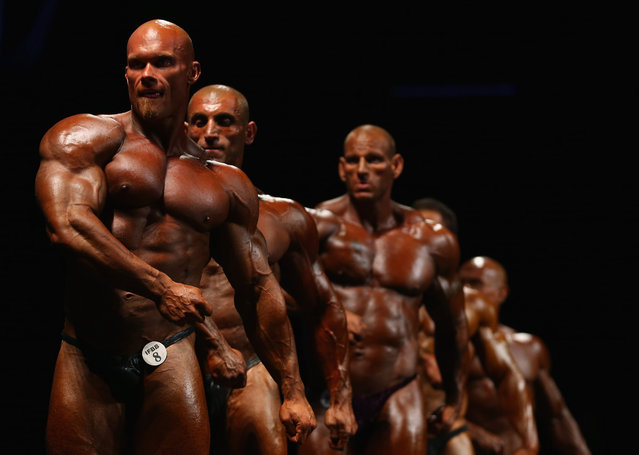 Ben Pakulski of Canada poses during the IFBB Australia Pro Grand Prix at The Plenary on March 9, 2013 in Melbourne, Australia.  (Photo by Robert Cianflone)