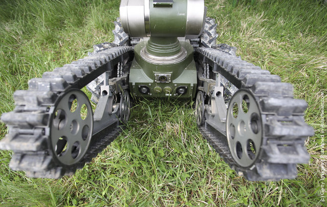 European Land-Robot Trial (ELROB), Military robot, teleMAX
