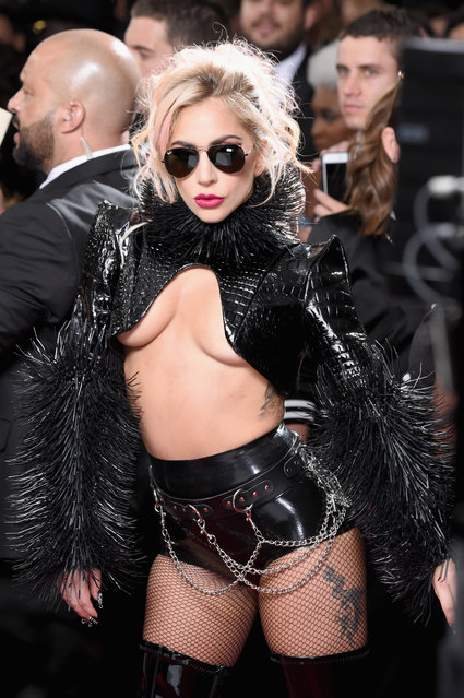 Singer Lady Gaga attends The 59th GRAMMY Awards at STAPLES Center on February 12, 2017 in Los Angeles, California. (Photo by Frazer Harrison/Getty Images)