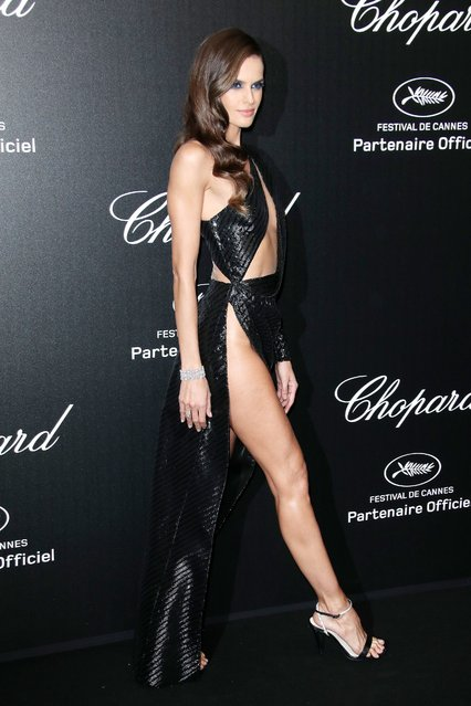 Ex Victoria's Secret angel model Izabel Goulart attends the Chopard Party during the 72nd annual Cannes Film Festival on May 17, 2019 in Cannes, France. (Photo by George Pimentel/WireImage)