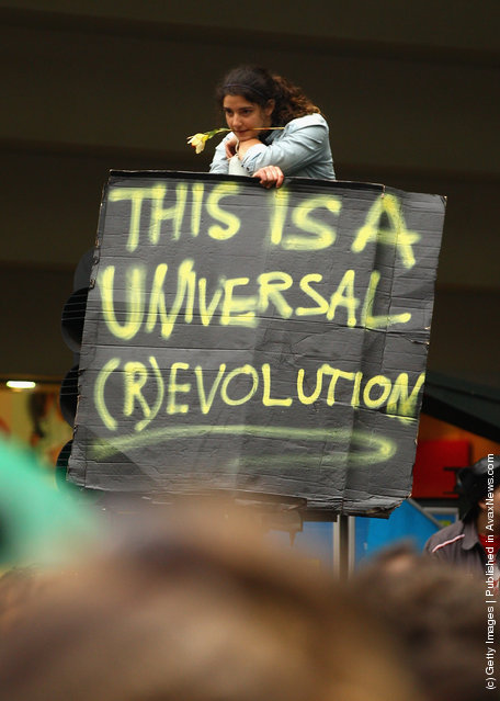 Occupy Melbourne Protesters Clash With Police