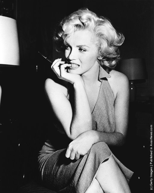 American film star Marilyn Monroe (Norma Jean Mortenson or Norma Jean Baker, 1926 - 1962)
