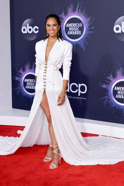 Misty Copeland attends the 2019 American Music Awards at Microsoft Theater on November 24, 2019 in Los Angeles, California. (Photo by Rodin Eckenroth/FilmMagic)