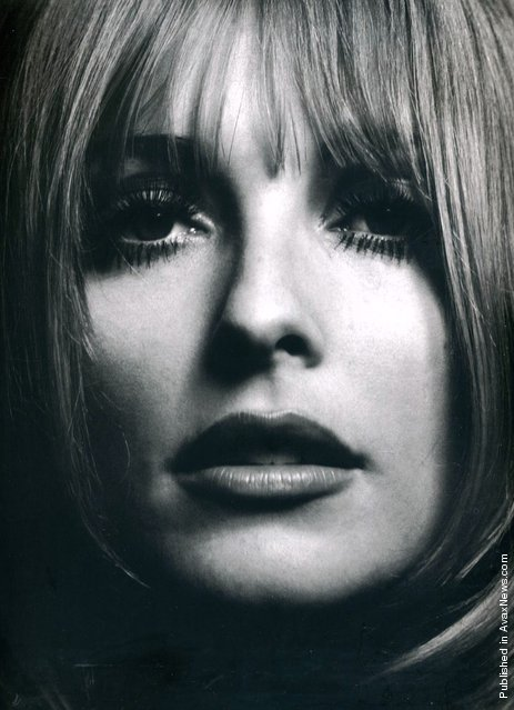 The American actress Sharon Tate, 1966. (Photo by Philippe Halsman)