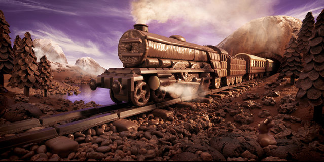 """The Chocolate Express"". (Photo by Carl Warner)"