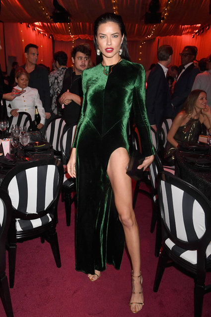 Model Adriana Lima attends Madonna presents An Evening of Music, Art, Mischief and Performance to benefit Raising Malawi at Faena Forum on December 2, 2016 in Miami Beach, Florida. (Photo by Jeff Kravitz/FilmMagic for Raising Malawi)
