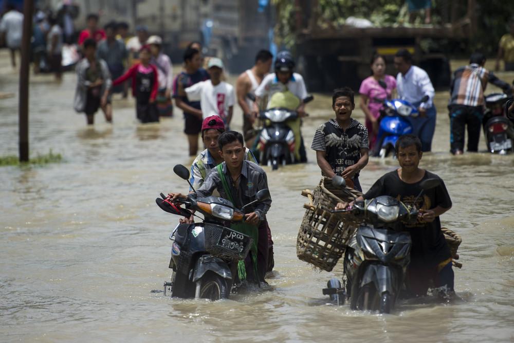 Daily Life in Myanmar