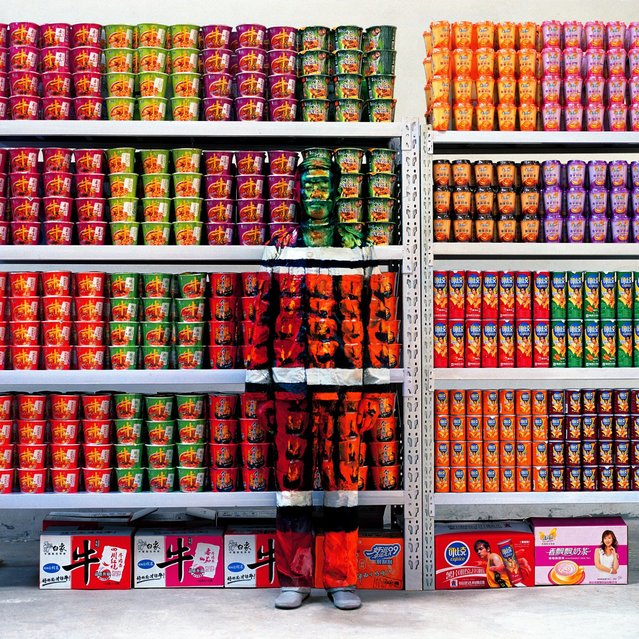 Optical illusions: artist Liu Bolin