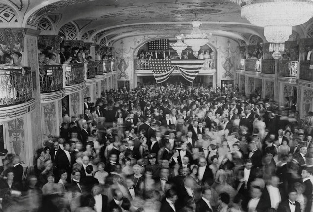 The crowd dances at President Herbert Hoover's inaugural ball at the Mayflower Hotel in Washington, D.C., U.S. in March 1929. Before the year was over, the Roaring Twenties would come to an end and the Great Depression would begin. (Photo by Reuters/Library of Congress)