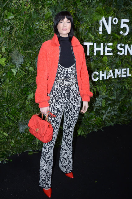 Kacey Musgraves attends the Chanel Party to celebrate the debut Of No. 5 In The Snow on December 10, 2019 at The Standard, High Line in New York City. (Photo by Paul Bruinooge/Patrick McMullan via Getty Images)