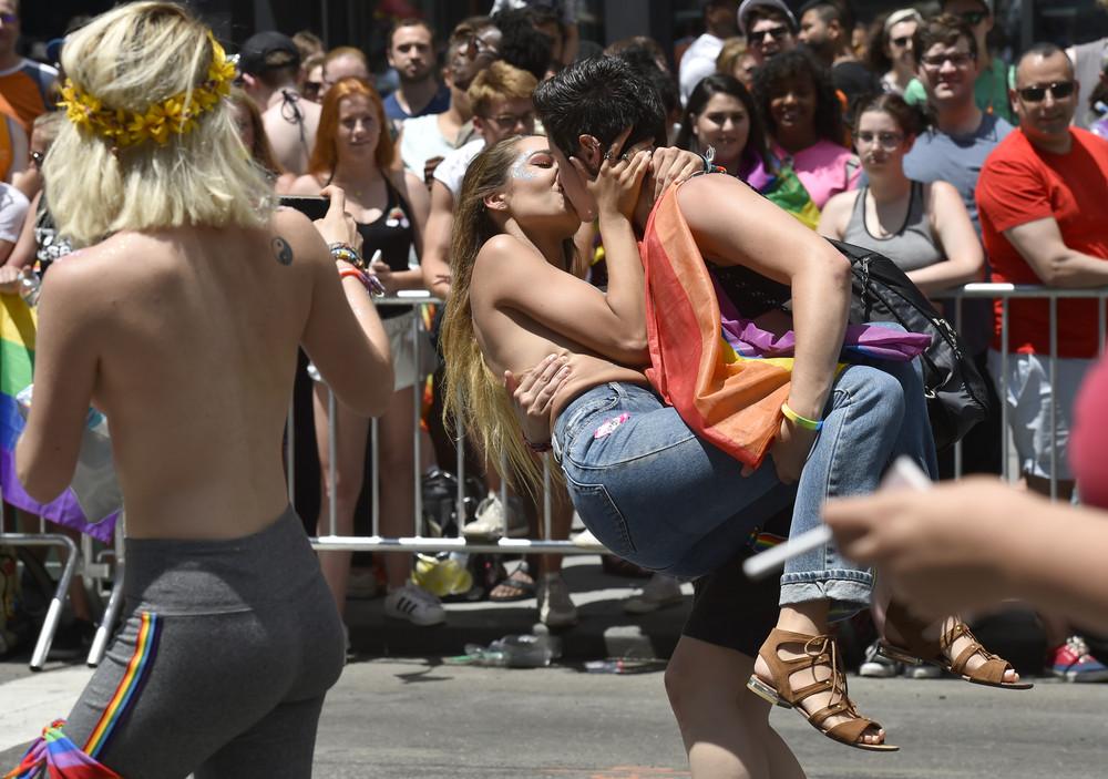 New York's Gay Pride Parade 2017