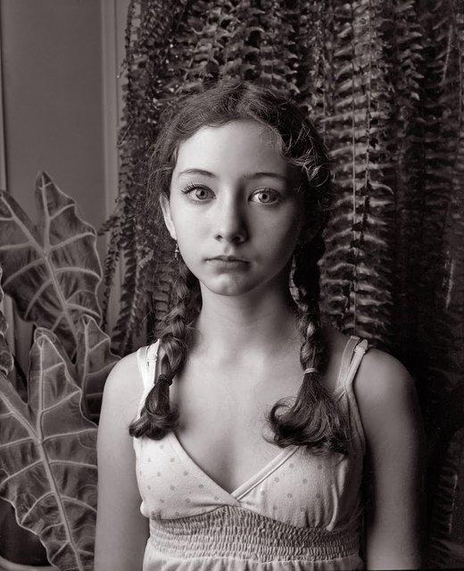 Rebecca Kris, 1989. (Photo by Sally Mann)