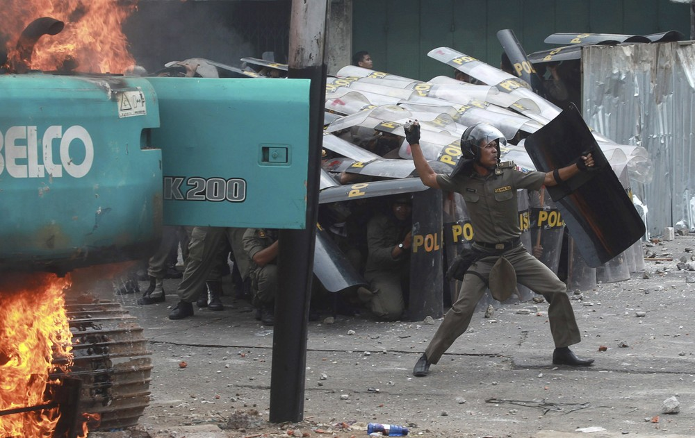 Protests in Indonesia