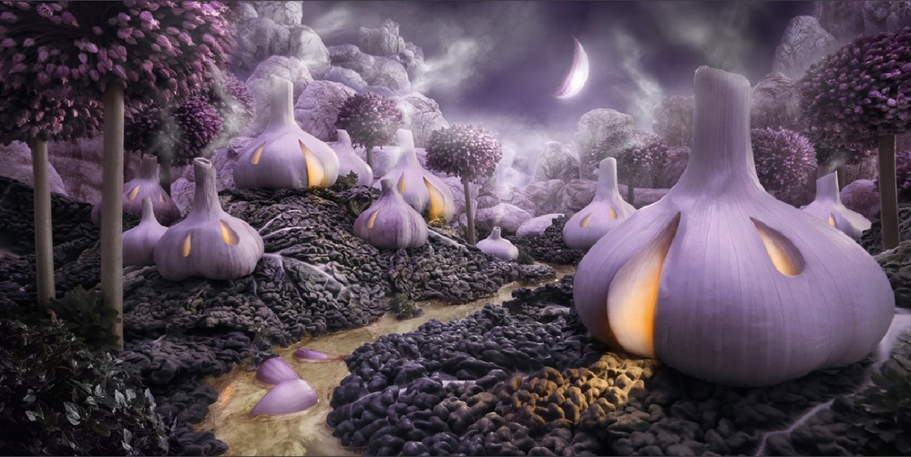 """""""Foodscapes"""" by Carl Warner"""