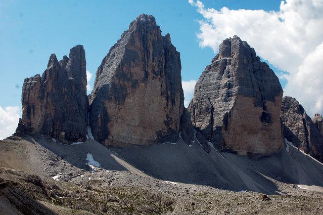 The Three Peaks Of Lavaredo