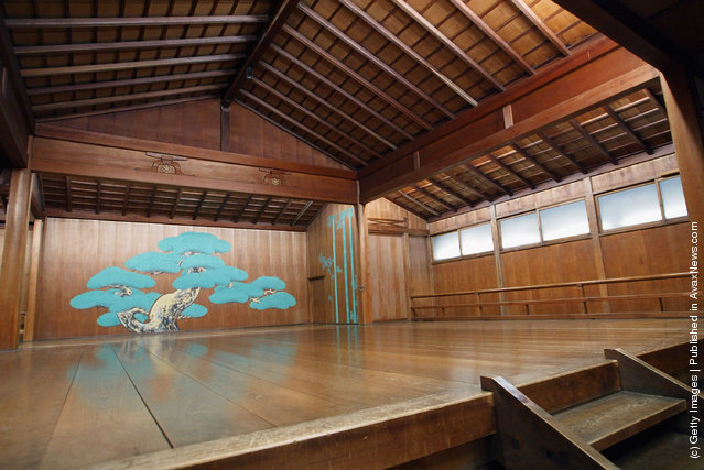 Japanese Noh Theatre stage