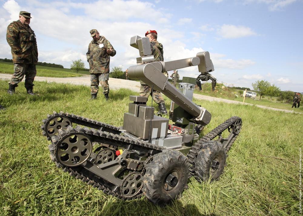 The European Land-Robot Trial (ELROB) 2010